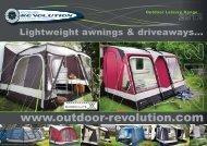 Lightweight awnings & driveaways - Outdoor Revolution