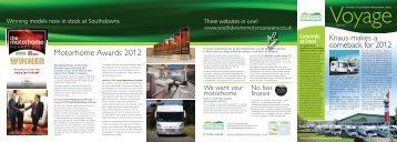 WINNER - Southdowns Motorhome Centre