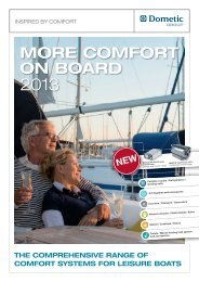 MORE COMFORT ON BOARD - Southdowns Motorhome Centre