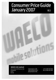 to download the 2007 Waeco Pricelist