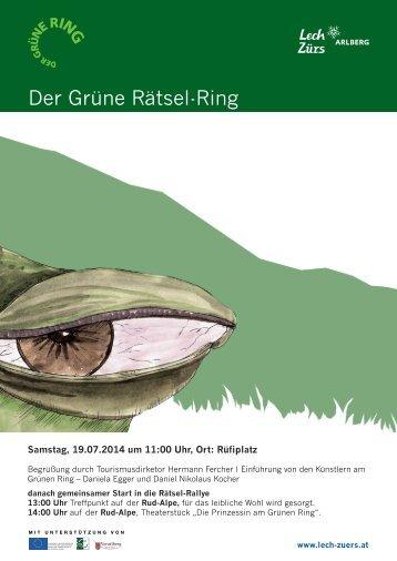 Der Grüne Rätsel-Ring