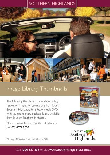 Image Library Thumbnails - Southern Highlands
