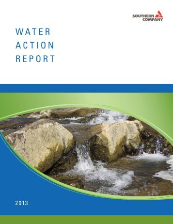 WATER ACTION REpORT - Southern Company