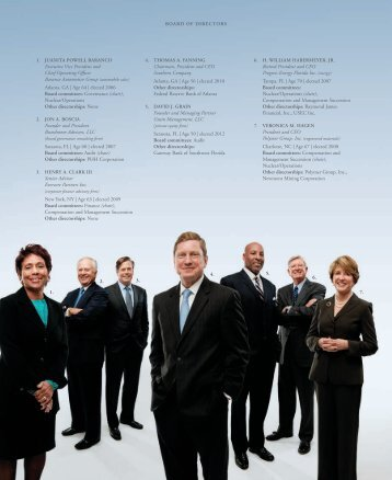 Board of Directors - Southern Company