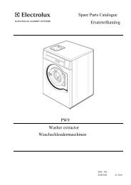 Washer extractor - Electrolux Professional Laundry Systems