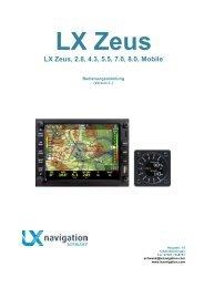 LX Zeus Handbuch Deutsch
