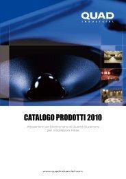 CATALOGO PRODOTTI 2010 - Audioeffetti