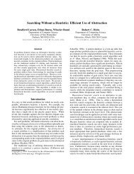 Searching Without a Heuristic - Computer Science - University of ...