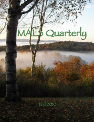MALS Quarterly - Dartmouth College