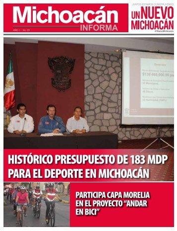 Michoacán Informa #33