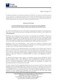 Milano, 28 maggio 2013 Si comunica che l'Emittente ... - Euroborsa