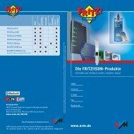 Die Fritz!isdn-Produkte - Maxdata