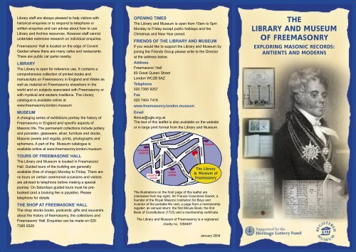 Download - The Library and Museum of Freemasonry