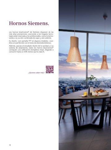 Catálogo General Hornos y Compactos - Siemens