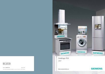 Catálogo PLV - Siemens