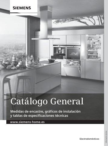 Catálogo General Información Técnica - Siemens