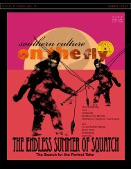 dowload the current issue lower resolution pdf - Southern Culture on ...