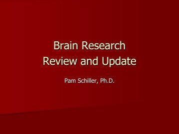 Brain Research - Review and Update.pdf - Southern Early ...