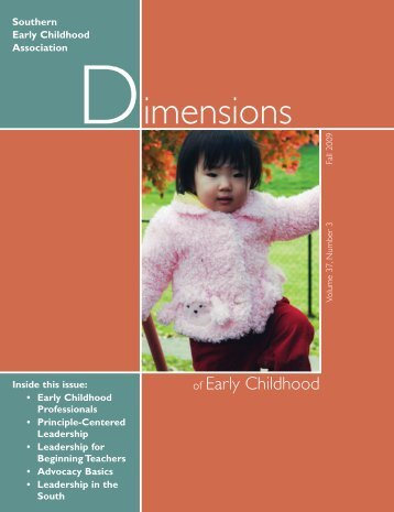90153 Dimensions Fall 09:Layout 1 - Southern Early Childhood ...