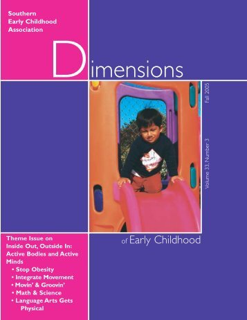 Vol_33-No_3_Fall 05.pdf - Southern Early Childhood Association