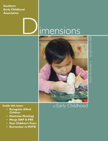 89501 Spring 08 Dimensions Print:Print - Southern Early Childhood ...