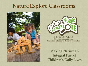 Nature Explore Classrooms - Southern Early Childhood Association