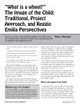 Volume 40, Number 3, 2012 Traditional, Project, Reggio ° Family ... - Page 5