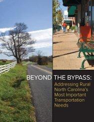 Addressing Rural North Carolina's Most Important Transportation ...
