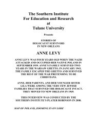 transcript - Southern Institute for Education and Research