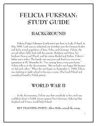 FELICIA FUKSMAN: STUDY GUIDE
