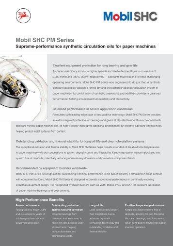 Mobil SHC PM Series - Mobil™ Industrial Lubricants