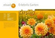 Erlebnis Garten 24 eload - Strato Demo Downloadshop