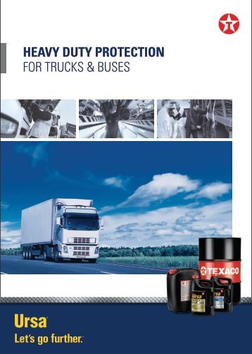 Truck and Bus overview - Southern Lubricants