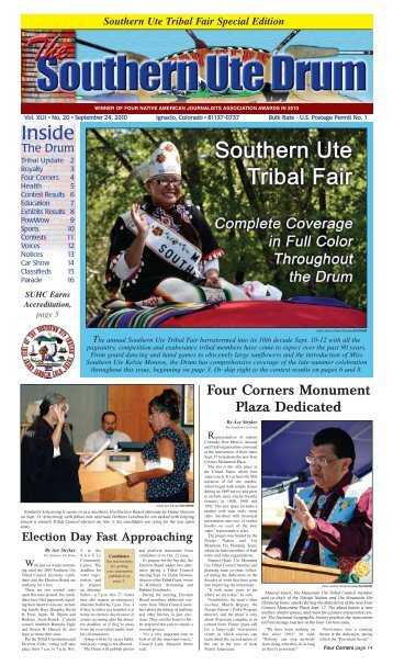 Southern Ute Drum - Southern Ute Indian Tribe