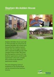Stephen McAdden House - South Essex Homes