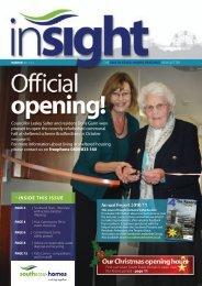 Insight Winter 2011 - South Essex Homes