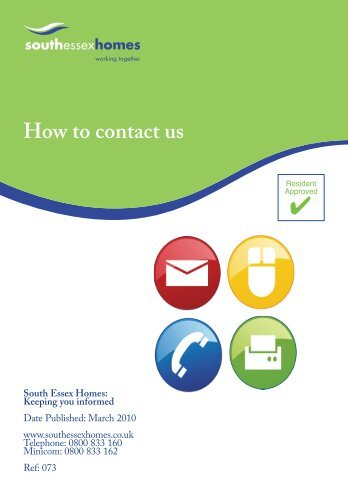 How to contact us - South Essex Homes