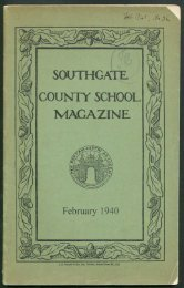 No 36 - February 1940 - Southgate County School
