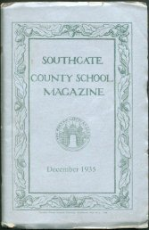 December 1935 - Southgate County School