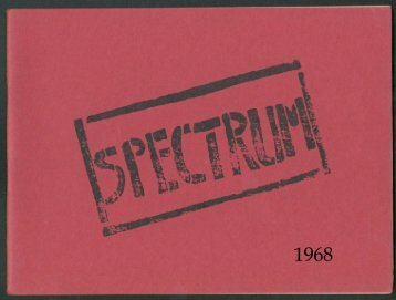Spectrum - 1968 - Southgate County School