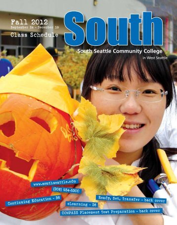Fall 2012 - South Seattle Community College