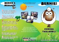 Bernie Information Leaflet - South Wales Fire and Rescue Service