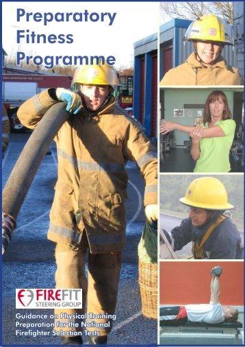 Preparatory Fitness Programme