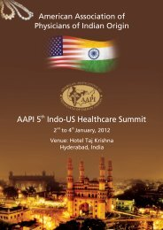 AAPI Brochure 2 - American Association of Physicians of Indian Origin