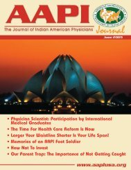 Physician Scientist - American Association of Physicians of Indian ...
