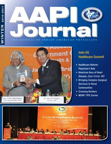 AAPI USA Journal Winter 2010-11 - American Association of ...