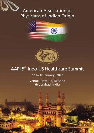AAPI Indo-US Healthcare Summit - American Association of ...