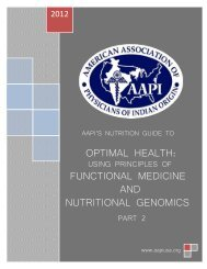 optimal health: functional medicine and nutritional genomics
