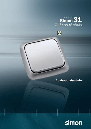 Serie mecanismos Simon 31, catálogo Simon enchufes ... - Venespa