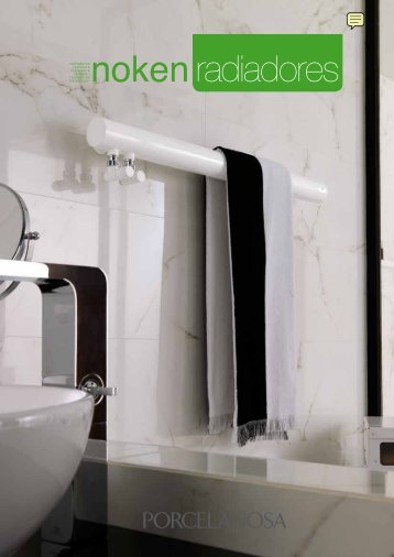 Radiadores toalleros de baño Noken catálogo. Radiators ... - Venespa